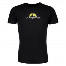 La Sportiva Footstep Tee T-Shirt - maglia manica corta nera | Mancini Store