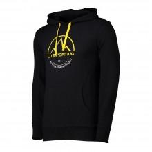 La Sportiva Logo Hoody felpa uomo estiva - nera | Mancini Store