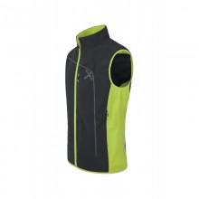 Run Power Vest Gilet Montagna Black Green 2019