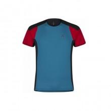 Outdoor Trail 2 T-Shirt Uomo Blu Red 2019
