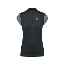 Spirit Zip T-Shirt Montagna Donna Black 2019