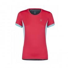 World MIx T-Shirt Montagna Donna Pink Blue 2019