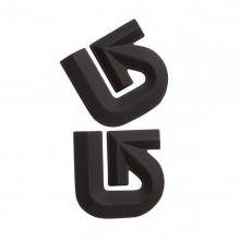 Pad antiscivolo per snowboard Burton Alluminum Logo Mats Black | Mancini Store