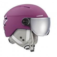 Cébé Fireball Junior Viiola Bianco - casco da sci bambino con visiera | Mancini Store