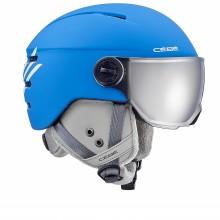 Cébé Fireball Junior Blue White - casco da sci bambino con visiera | Mancini Store