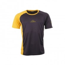 Mr Event Tee T-Shirt Black Yellow