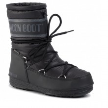 Moon Boot Mid Nylon WP Black