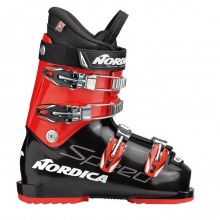 Nordica Speedmachine J 4 Black Red - scarponi sci bambino | Mancini Store