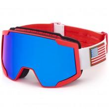 Briko Lava 7.6 USSA America Red White - maschera sci | Mancini Store