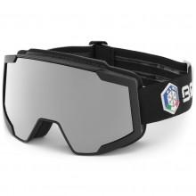 Briko Lava 7.6 FISI Italia Black White - maschera sci | Mancini Store