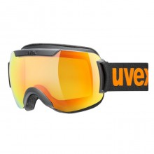 Uvex Downhill 2000 CV Black Matt Mirror Orange - maschera sci | Mancini Store