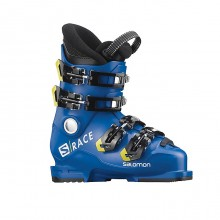 Salomon S/Race 60T L  Race Blue Acid Green - scarponi sci bambino | Mancini Store