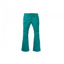 WB Gloria Pant Pantalone Snowboard Green Blue Slate