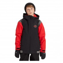 B Gameday Jkt Giacca Snowboard Bambino Red Black