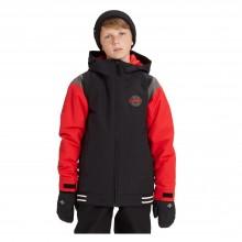 B Gameday Jkt Giacca Snowboard Bambino Red Black