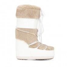 Moon Boot Classic Faux Fur White