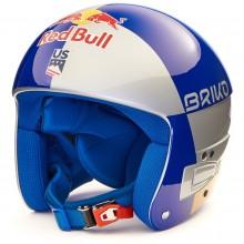 Briko Vulcano FIS 6.8 JR RB LVF Gold Blue - casco sci gara bambino | Mancini Store
