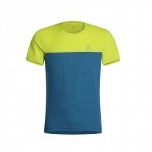 Outdoor 20 T-Shirt Montagna Uomo Blue Verde 2020