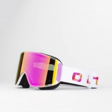 Katana Sprinkle Violet MCI Maschera Snowboard + Lente Permission