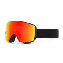 Katana Black Red MCI Maschera Snowboard + Lente Permission