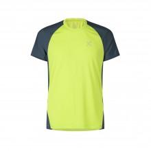 Join T-Shirt Montagna Uomo Lime Blu