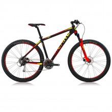 "Icaro MTB T730 Acera Bicicletta 29"" Black Red"