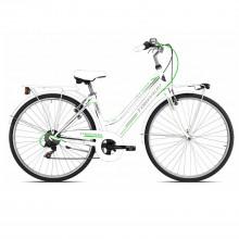 Albatros/Rondine T481 6V Bicicletta Donna White Green