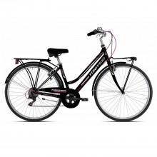 Albatros/Rondine T481 6V Bicicletta Donna Black Pink