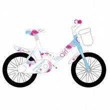Torpado Titty T691 Jr 12 - bici per bambina - bianca/blue/pink | Mancini Store