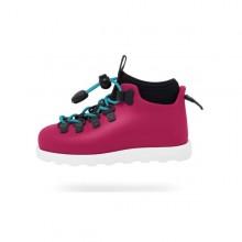Native Native Shoes Fitzsimmons Pink - stivaletti anti pioggia bambina e7d0aca2370