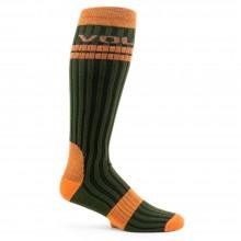 Volcom The Crew Socks - calze verde arancio 0b92f007a708