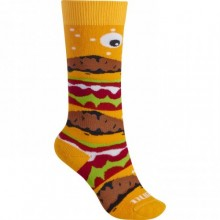 Burton Youth Party Socks Burger Deluxe - calze bambino af47f26a32d7