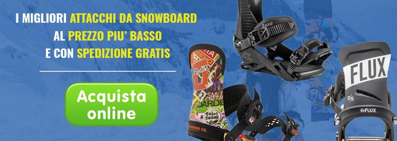 Acquista online i migliori attacchi snowboard
