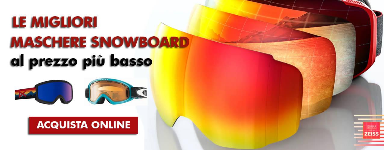 Maschere Snowboard al prezzo più basso
