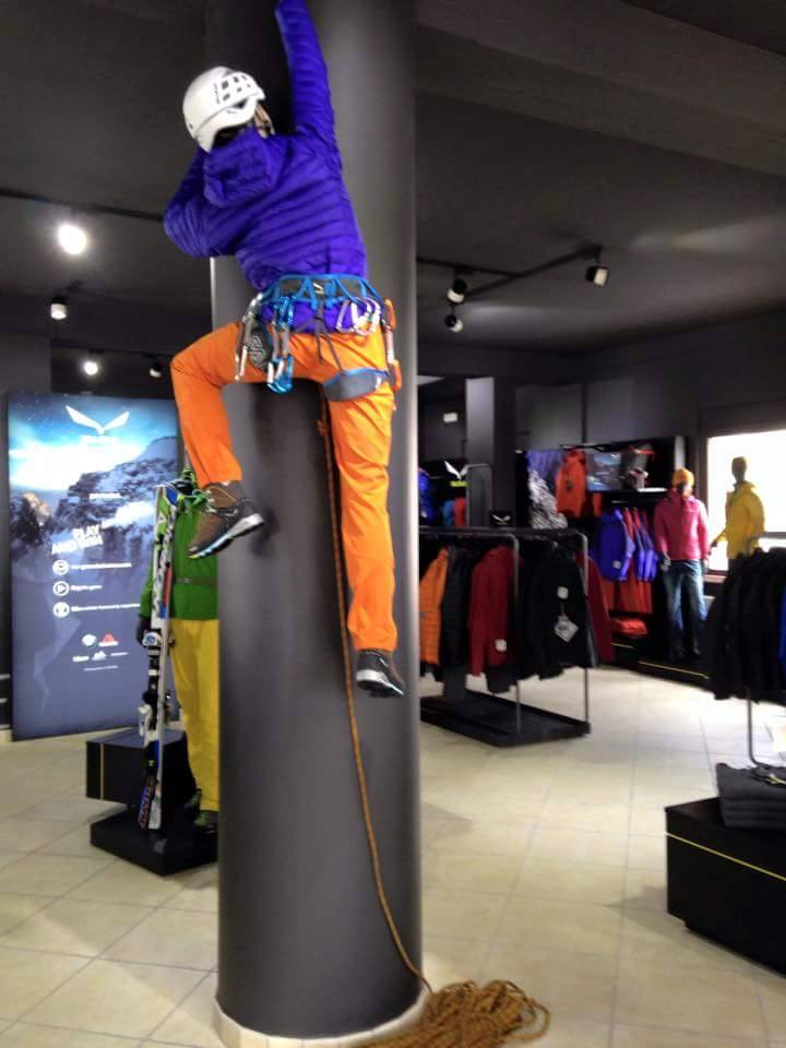 Articoli per arrampicata sportiva