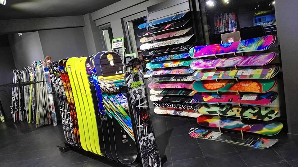 Vendita tavole snowboard
